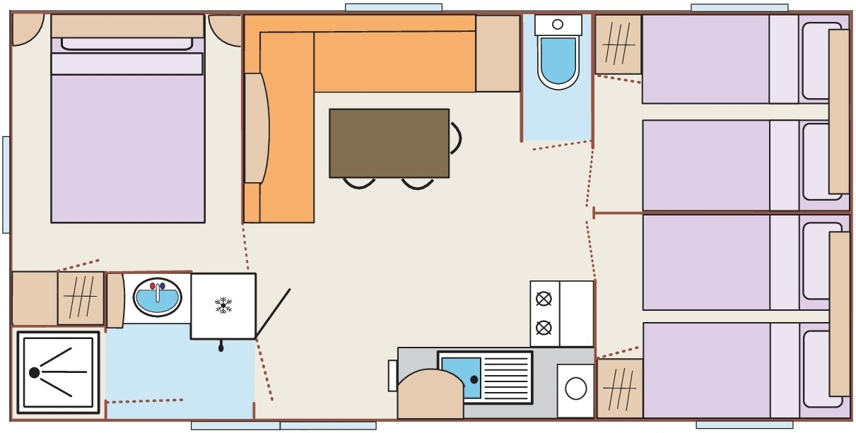 Mobil-home 31m² TRIGANO