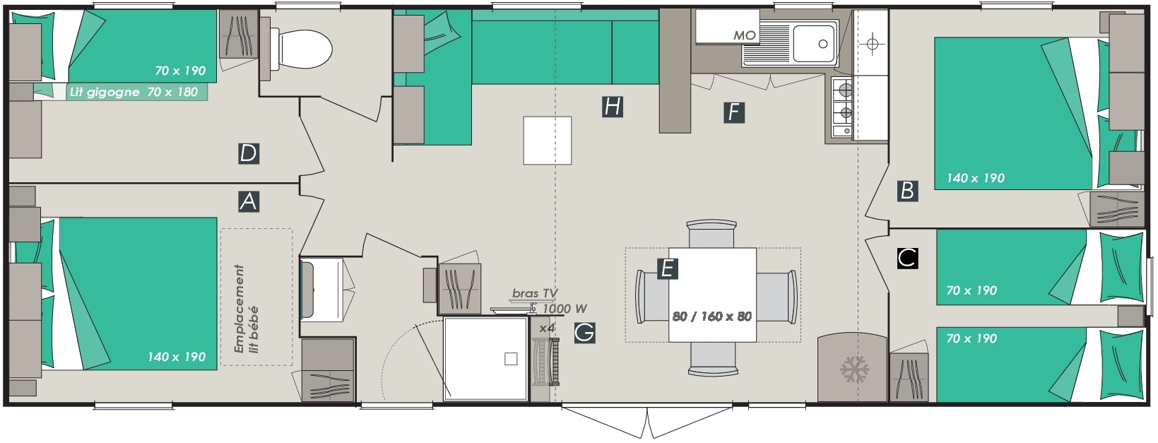Mobil-home 40m² IRM
